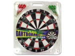 Dartboard with Metal Tip Darts
