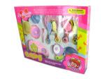 Children's play cookware & plate set