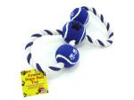 Jumbo rope ball toy