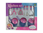Kitchen cooking play set