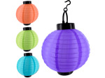 Oriental hanging lamps, assorted colors
