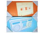 8x16 tape/player art