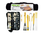 Barbecue set with carry bag