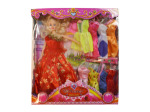 Fashion doll, 4 assorted