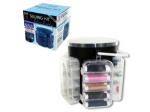 Deluxe Sewing Kit with Storage Caddy