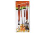 Deluxe barbecue utensil set
