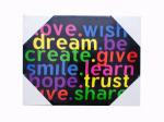 Inspirational Word Art Canvas Wall Decor