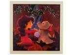 Hippopotamus Surprise Musical Light Up Art