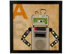 Cassette Robot Light Up Art