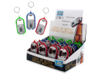 2-in-1 Light-Up Bottle Opener Key Chain Countertop Display