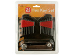 24-Piece Hex Key Set