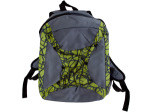 grey/green backpack