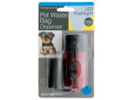 Pet Waste Bag Dispenser LED Flashlight
