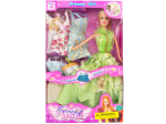 Dreamy Fashion Doll with Dresses