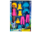 Fairy Fashion Doll with Clip-On Clothing & Accessories