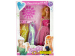 Fashion Doll with Dresses and Artificial Nails