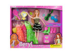 Fashion Doll with Dresses & Accessories