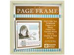 Cream Wood Page Frame