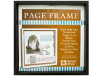 Black Wood Page Frame