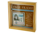 Natural Wood Page Frame