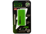 Green Pocket Juice Rechargeable Power Bank with USB Cable