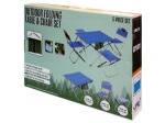 Outdoor Folding Table & Chairs Set