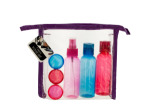 Travel Container Set in Zipper Case