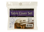 Lace Table Cover Set with Placemats