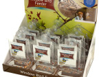 Window Bird Feeder Thermometer Countertop Display