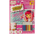 Strawberry Shortcake Pop-Out Coloring Kit