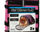 Vented Pet Carrier Bag with Reflective Stripes