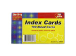Ruled index sheets
