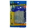 Blue Stick Pens with Caps