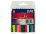 12 pack 3.5 inch colored pencils
