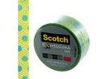 Scotch Expressions Green & Aqua Dots Tape