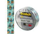 Scotch Expressions Robots Washi Tape