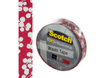 Scotch Expressions Red Holly Washi Tape