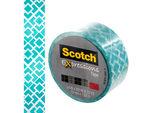 Scotch Expressions Turquoise Diamond Pattern Tape