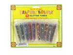 Craft glitter tubes
