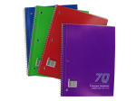 One subject spiral notebook