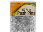 Clear Push Pins