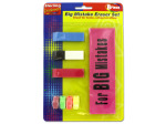 Big mistake eraser set