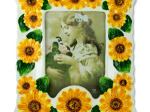 Sunflower Ceramic Photo Frame