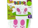 Bunnies 3D Text-Ur Foam Stick & Stack Craft Kit
