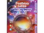 Flashing Diamond Light-Up Spiked Bracelet