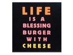 Blessing Burger Mini Box Print Wall Art