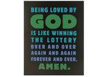 Loved by God Box Print Wall Art