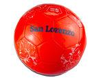 Size 5 Argentina San Lorenzo Red & Black Soccer Ball