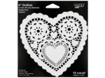 15 pack 6inch. doily