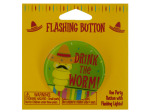 drink the worm flashing button